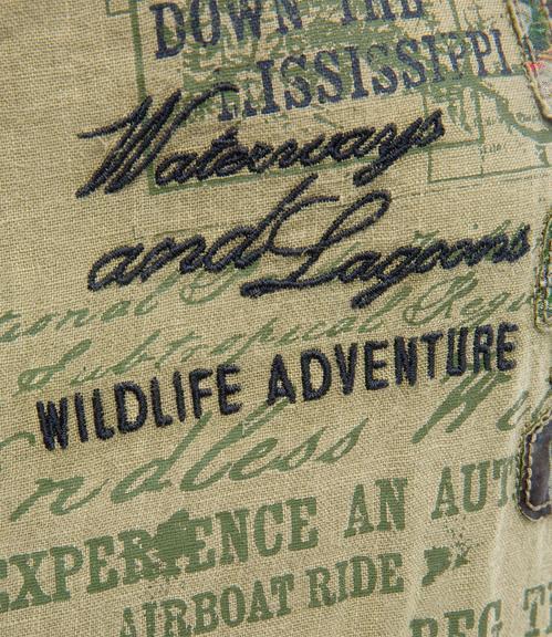Košile CCG-1904-5413 wild khaki M - 2