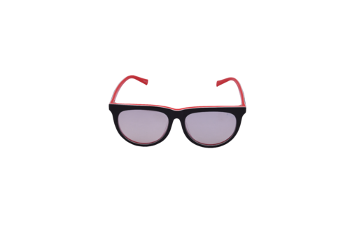 Dámské sluneční brýle CCU-1855-8738 Black Red|UNI - 2