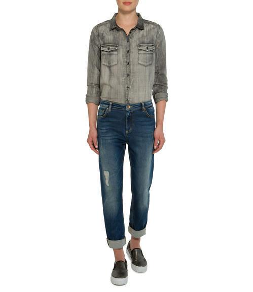 tmavě modré džíny|28 - 3