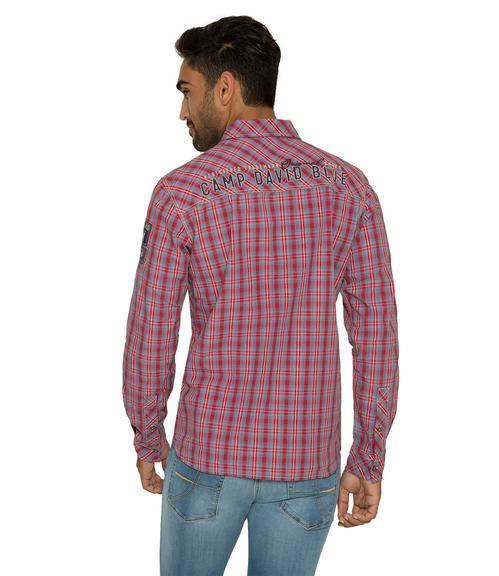 Košile CCB-1809-5777 royal red|M - 3