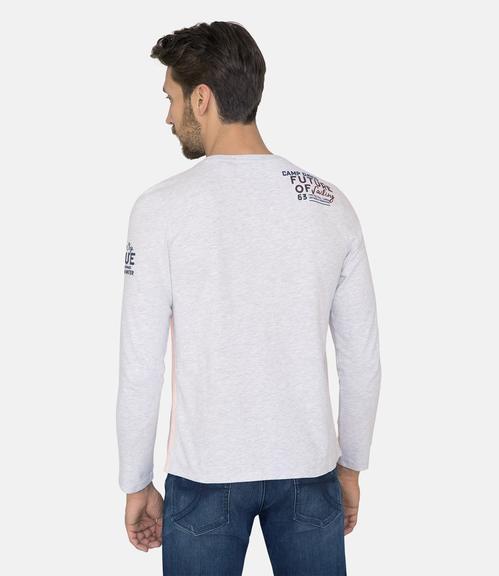 Tričko CCB-1811-3067 white melange|S - 3