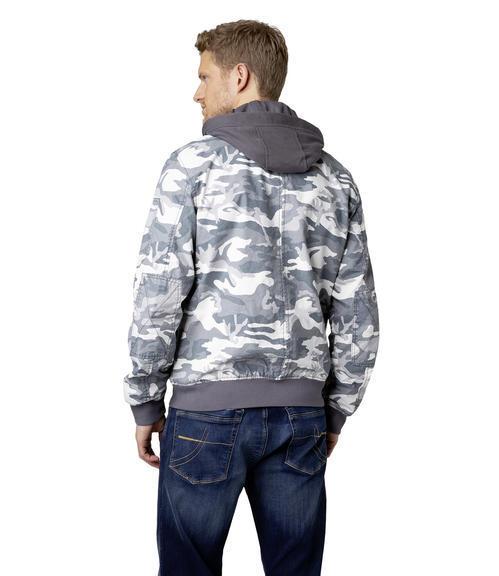 Bunda CCG-1900-2061 grey camouflage|M - 3