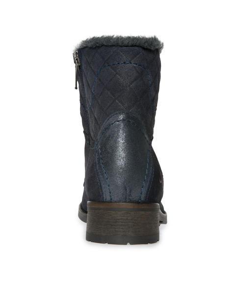 Semišové boty SCU-1755-8946 dusty black|38 - 3