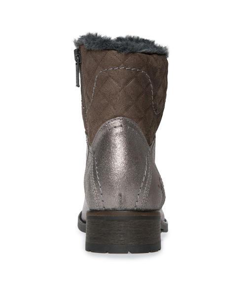 Semišové boty SCU-1755-8946 silver grey|36 - 3
