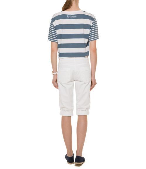 Bílé 3/4 kalhoty|M - 3