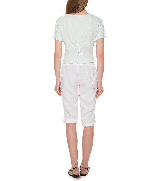 Bílé 3/4 kalhoty|XXL - 3