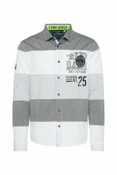 Košile CB2108-5217-11 anthra|M - 3