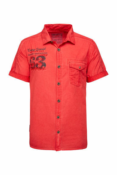 Košile CCG-2003-5713 red orange|S - 3