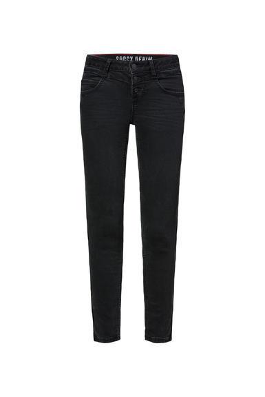 Džíny SDU-1955-1296 dark grey velvet|30 - 3