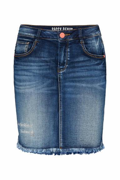 Džínová sukně SDU-2000-7838 dark blue used|M - 3