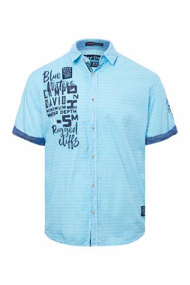 Košile CCB-2004-5678 fresh aqua|S - 3
