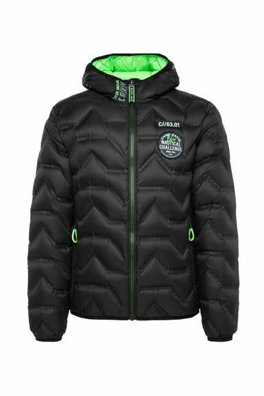 Péřová bunda CCB-2055-2285 Black|M - 3