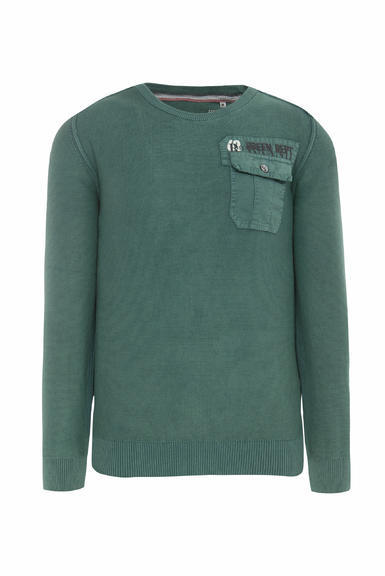 Svetr CCG-1910-4077 grey green|XL - 3