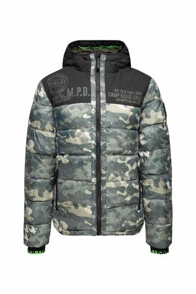Péřová bunda CCG-2055-2362 khaki|XL - 3