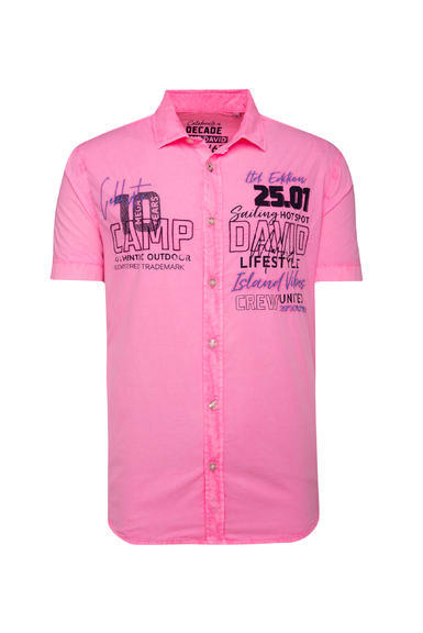 Košile CCU-2000-5548 neon pink|XXL - 3