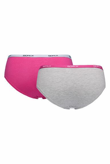 Kalhotky SCU-9999-8894 light grey-pink|XL - 3