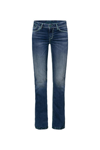 Džíny SDU-1955-1269 medium blue washed|33 - 3