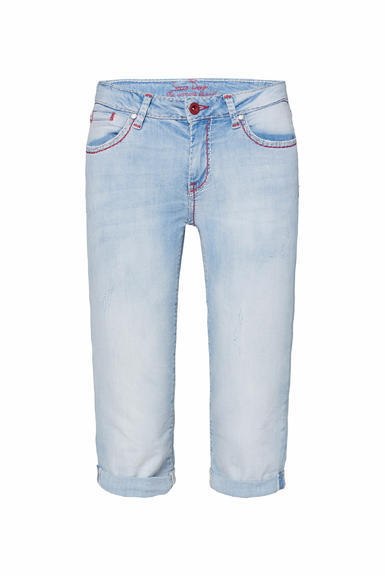 Džínové 3/4 kalhoty SDU-2000-1868 sunny bleached|28 - 3