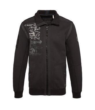 sweatjacket CCB-1509-3780 - 3/4