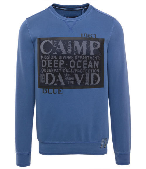 Mikina CCB-1709-3740 diving blue|XXL - 3