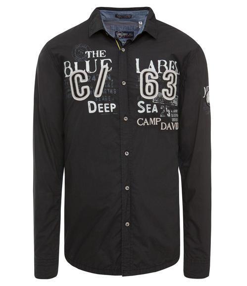 Košile CCB-1709-5753 black|L - 3