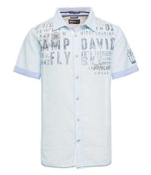 košile CCB-1804-5418 old aqua|XXL - 3
