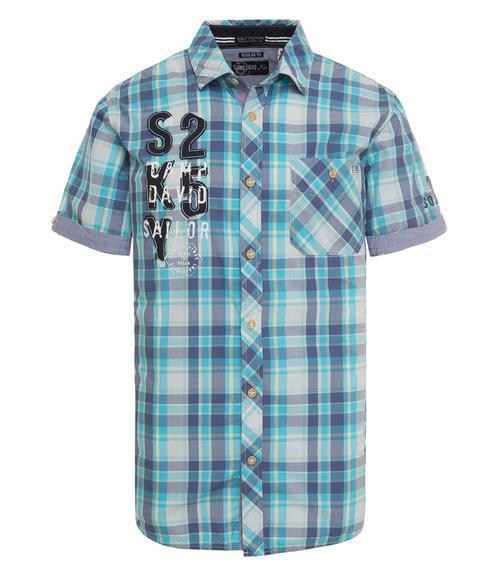 košile chec CCB-1804-5419 old aqua|L - 3