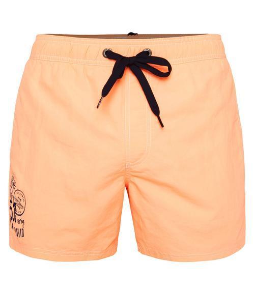 Plážové kraťasy CCB-1900-1292 neon orange|XXL - 3