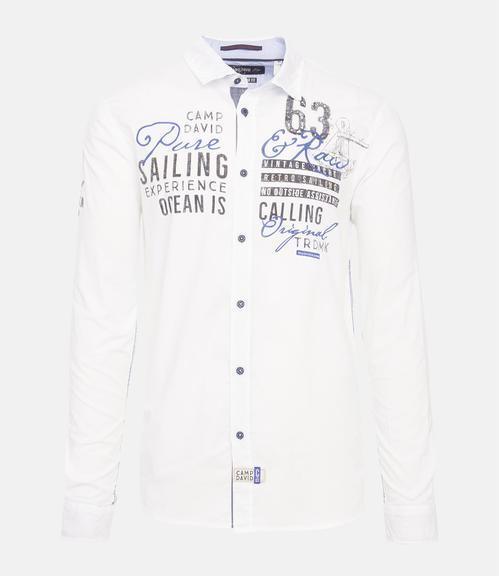 Košile CCB-1901-5098 optic white|L - 3