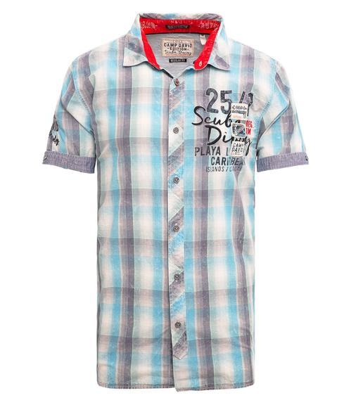 Košile CCB-1904-5378 summer aqua|S - 3