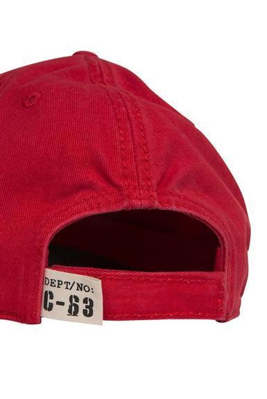Kšiltovka CCB-1907-8637-5 Signal Red|0 - 3