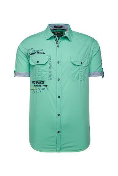 Košile CCB-1912-5429 azure|S - 3