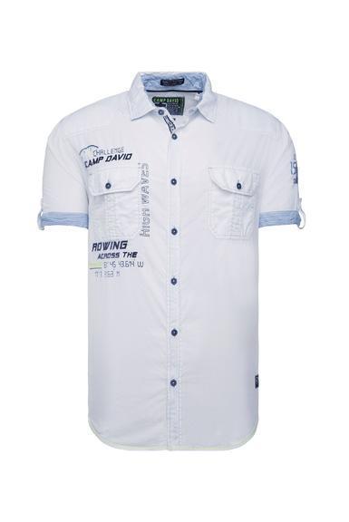 Košile CCB-1912-5429 opticwhite|S - 3