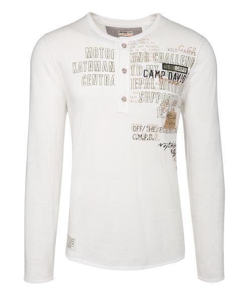 Vzdušný bílý svetr|M - 3