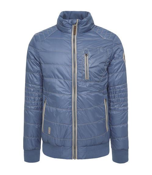 Polstrovaná modrá bunda|XXXL - 3