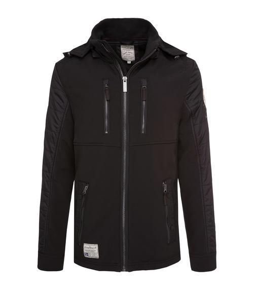 černá softshellová bunda|M - 3