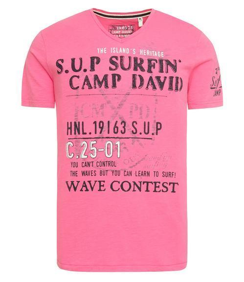 Tričko CCU-1855-3596 deep pink|XXL - 3