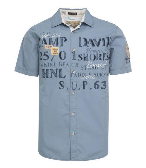 Košile Regular Fit CCU-1855-5598 cliff grey|M - 3