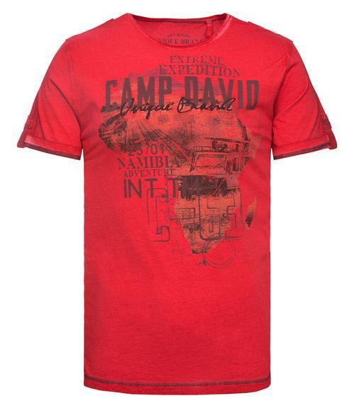 Tričko CCU-1900-3712 Red|M - 3