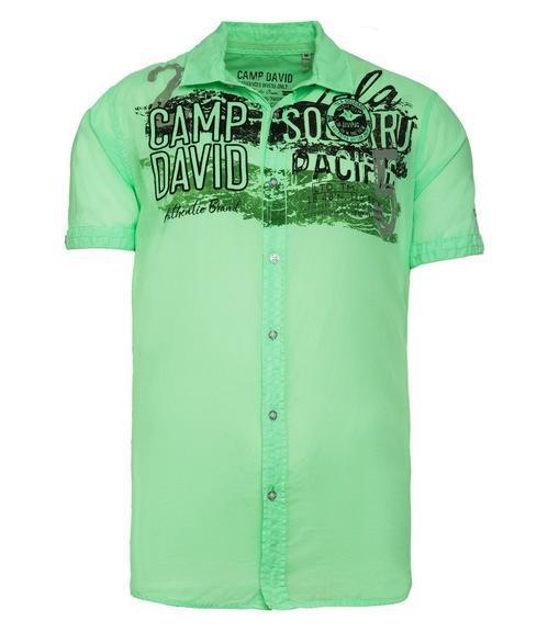 Košile CCU-1900-5991 neon green|XL - 3