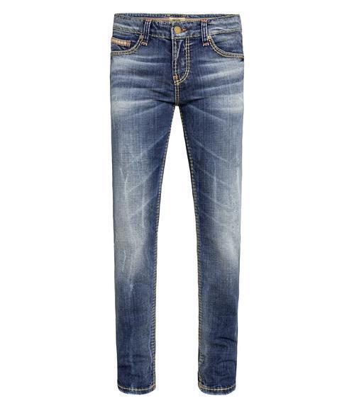 Džínové kalhoty Regular Fit CDU-1900-1417 L32 vintage used|33 - 3