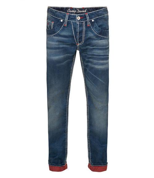 Tmavě modré džíny Camp David Regular Fit CDU-9999-1448|32 - 3
