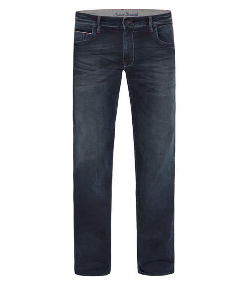 Džíny Comfort Fit CDU-9999-1941 dark blue vintage|33 - 3
