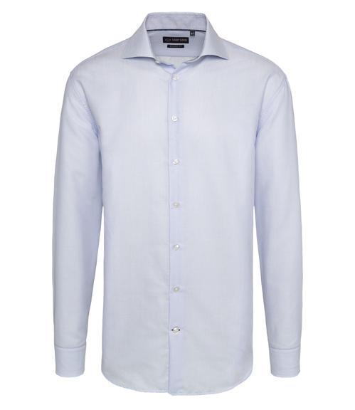 Světle modrá košile s bílým vzorem|41 - 3