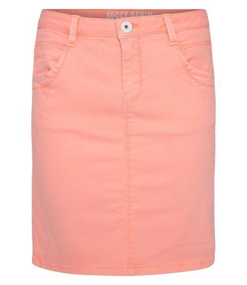 Džínová sukně SDU-1900-7392 intense orange S - 3