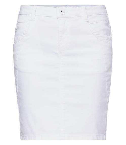 Džínová sukně SDU-1900-7392 optic white|S - 3