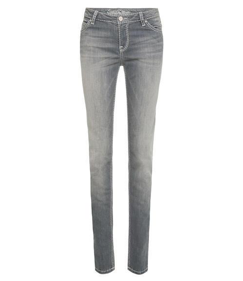 Světlé džíny se sepraným efektem|31 - 3