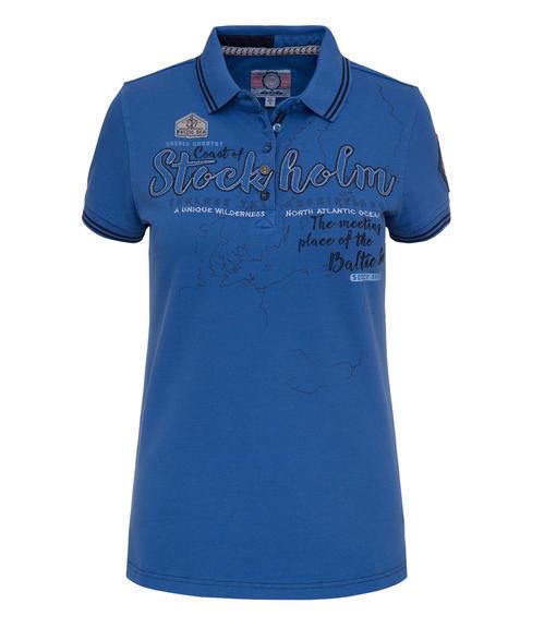 Sportovní modré polo tričko|S - 3