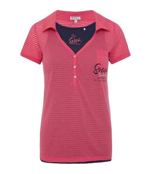 tričko SPI-1804-3208 pink coral|M - 3