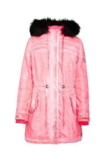 Parka SPI-1955-2337 neon rosa|XXL - 3